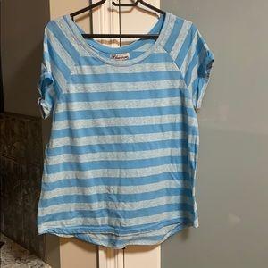 Blue stripe tshirt
